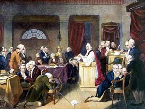 THE FIRST PRAYER IN CONGRESS BY OUR FOUNDING FATHERS - DO THEY LOOK LIKE ATHEISTS, AGNOSTICS OR DEISTS?
